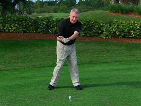 complete golf swing best way to do full golf swing with long irons
