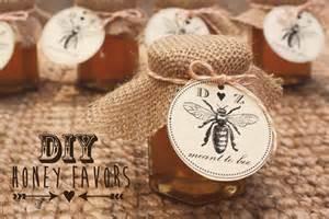Wedding Honey Favors by Sugar And Chic Diy Honey Favors