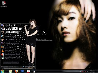 themes download girl free download theme snsd girl generation for windows 7