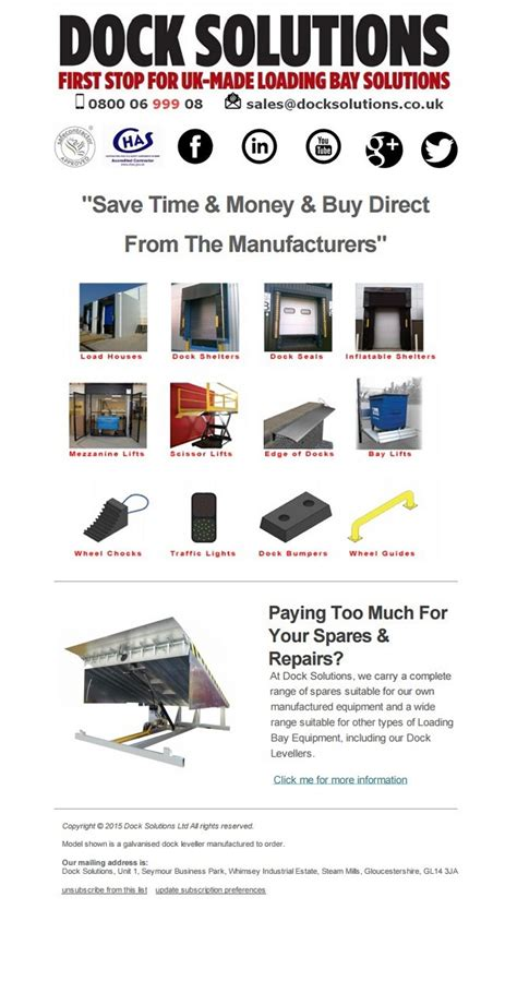 save money buy direct dock solutions