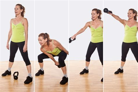 one arm swing kettlebell workout 5 dynamic moves for full body fitness