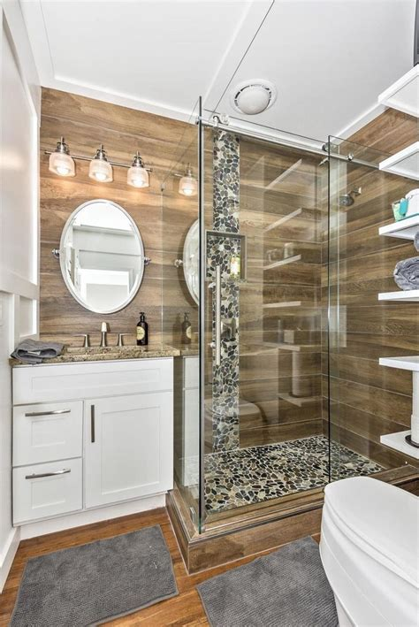 ideas  tiny house shower  pinterest tiny
