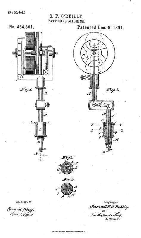 tattoo machine blueprints did thomas edison invent the tattoo machine inked magazine