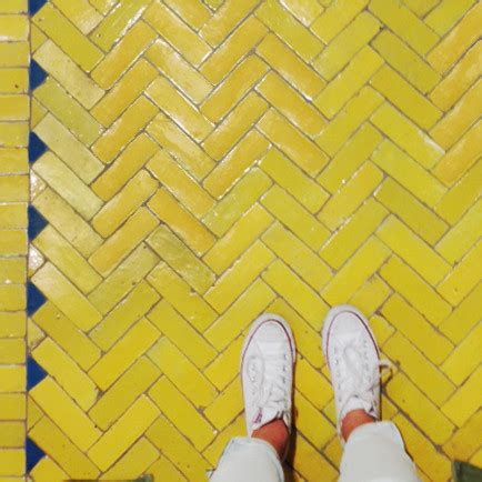 Not So Mellow Yellow by Not So Mellow Yellow Floorcore Is Our Favorite Instagram