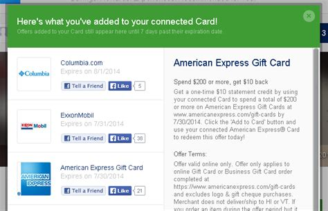 How To Add Money To American Express Gift Card - serve can t redeem amex gc offer ways to save money when shopping