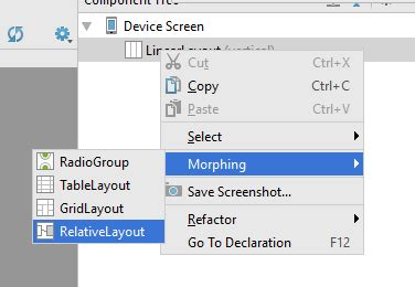 xamarin relativelayout tutorial use idea ide for android ui design with visual studio and