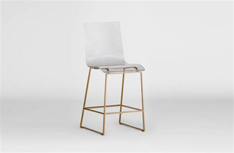 Lucite And Gold Bar Stools by Clear Acrylic Counter Stool Lucite And Gold King Gab