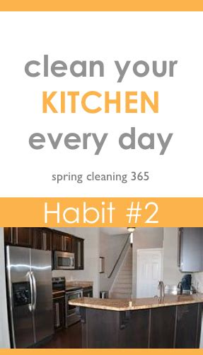 clean your kitchen cleaning habit 2 clean your kitchen every clean