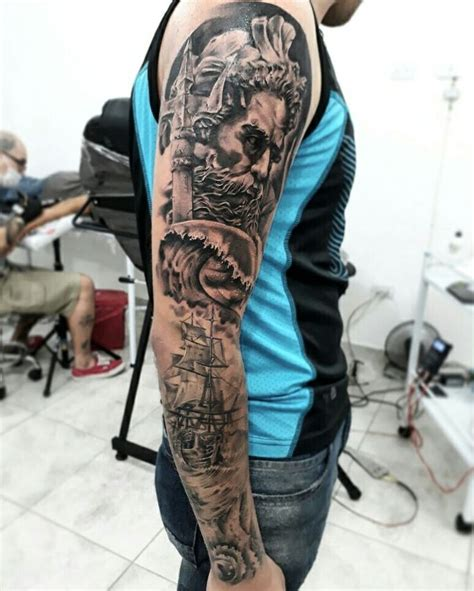 poseidon tattoo best 25 poseidon ideas on poseidon