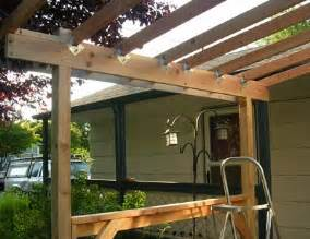 porch roof framing the basic framework of the new front