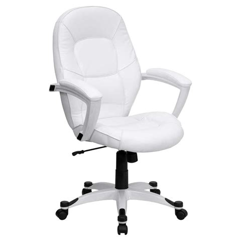 White Desk Chair Office Furniture Desk Chairs White