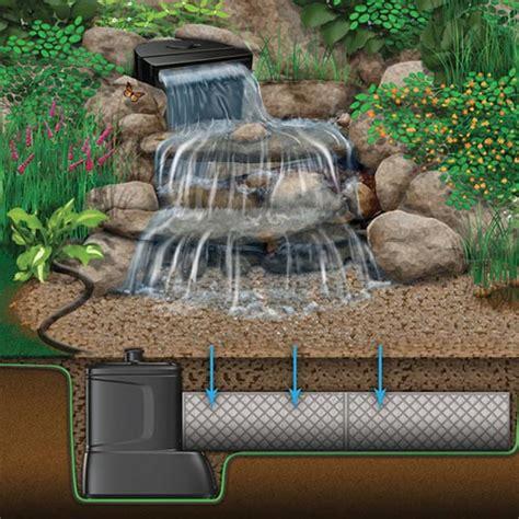 aquascape diy aquascape diy backyard waterfall kit mpn 83001 best