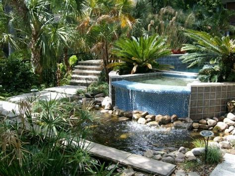 florida creek garden tropical landscape jacksonville