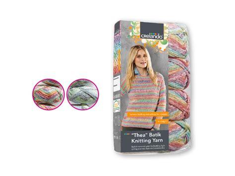 crelando knitting yarn crelando thea batik knitting yarn lidl northern