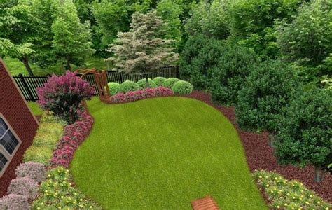 landscaping ideas for backyard privacy garden ideas categories perennial garden perennial