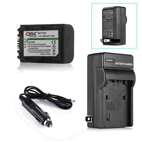 np fh50 charger np fh50 battery charger for sony alpha a230 np fh100 np