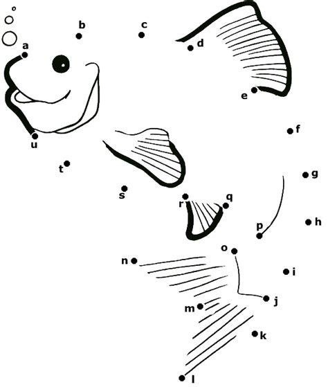printable dot to dot fish dot to printables and worksheets connect the dots find