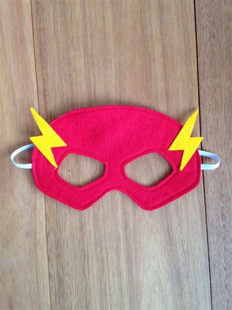 flash mask costume felt superhero mask dress