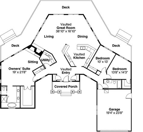 Vacation House Floor Plan by Best 25 House Plans Ideas On