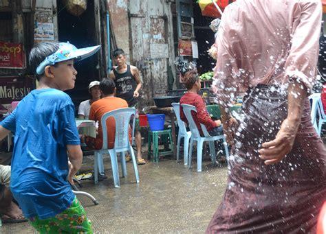 boat party yangon thingyan water festival in yangon myanmar