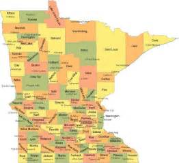 Mn State Map by Best Auto Insurance In Minnesota Affordable Car