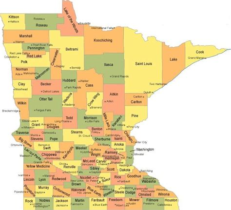 minnesota state map best auto insurance in minnesota affordable car insurance quotes