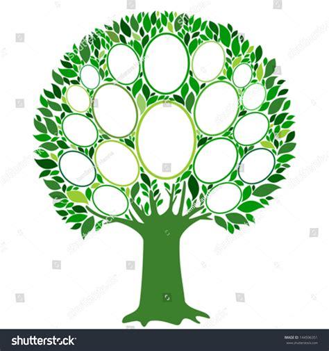 Family Tree Frames Empty Your Input Stock Vector 144596351 Shutterstock Family Tree Template Empty Frames Photos Stock Vector 656586004