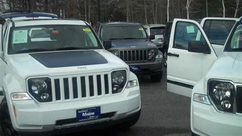 Jeep Dealer Maine Best Maine Jeep Dealers 2012 Jeep Liberty Arctic Vs Jet