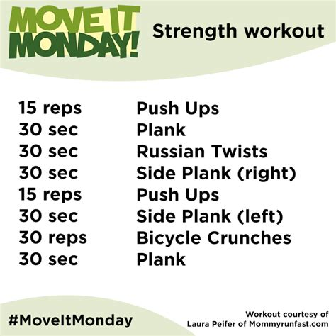 move it monday workouts on the go move it monday