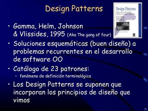 design patterns gamma helm johnson ingenieria de software