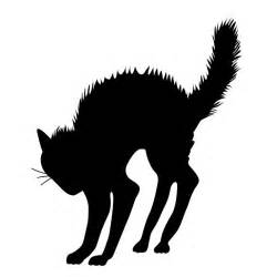 wall decal and black cats on