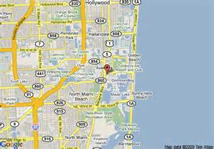 map of courtyard by marriott aventura mall miami