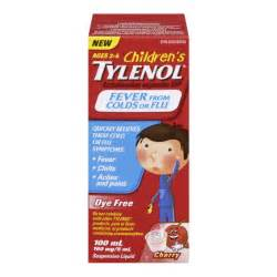 buy tylenol children s fever from colds or flu in canada free shipping healthsnap ca