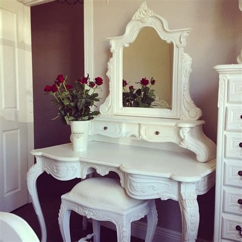 All White Vanity White Vanity Makeup Counter Bedroom Ideas