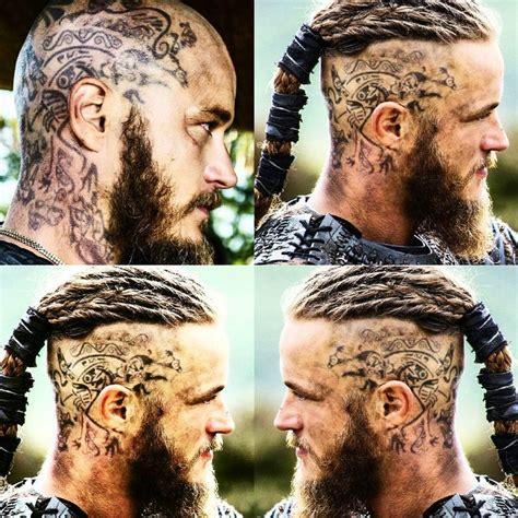 ragnar dreads travisfimmel tattoo tattooartist tattoos