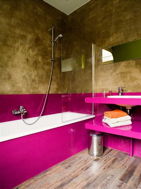 funky bathroom home