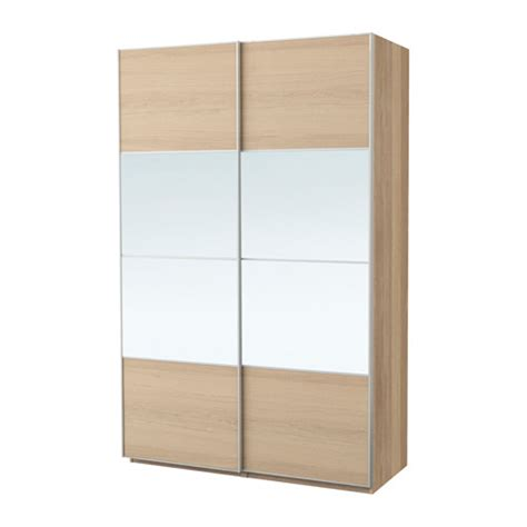 ikea pax fitted wardrobes pax wardrobe white stained oak effect auli ilseng