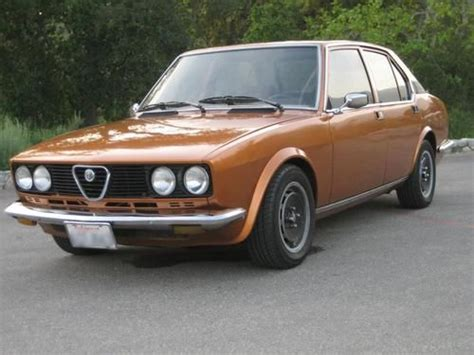 alfa romeo 4 door sedan purchase used 1979 alfa romeo alfetta sport 4 door sedan