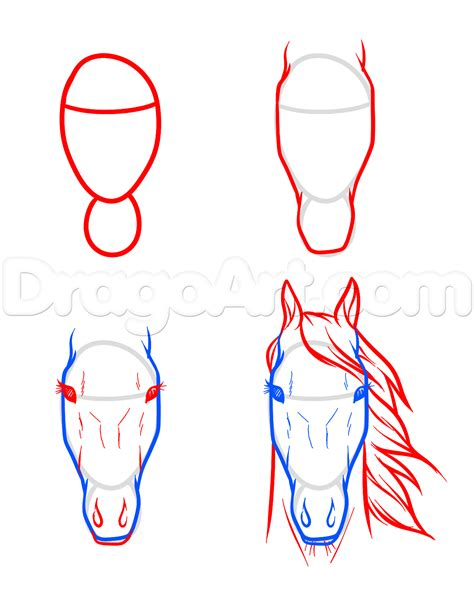 video on steps to show you how to corn row hair thats easy draw horse heads and faces step 7 carving pinterest