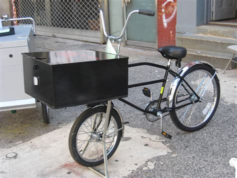 Pizza Delivery Bike Rack by Cargo Bikes Worksman Low Gravity Model Lgp