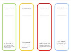 free blank bookmark templates to print november 2014 parenting times