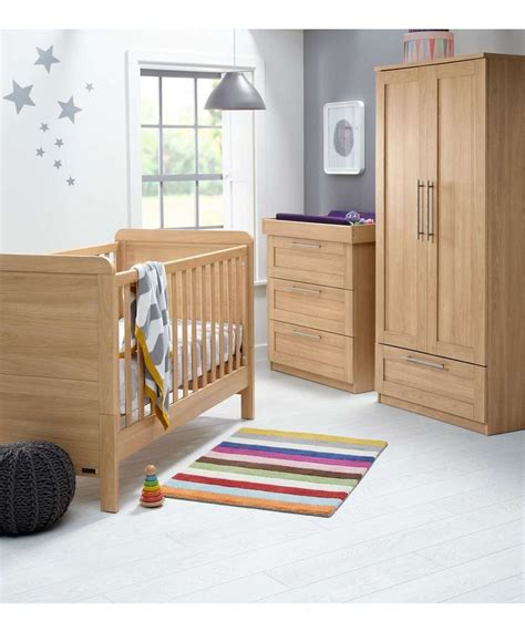 Mamas And Papas Nursery Furniture Set Rialto 3 Set Oak Rialto Oak Mamas Papas Baby S Nursery Pinterest