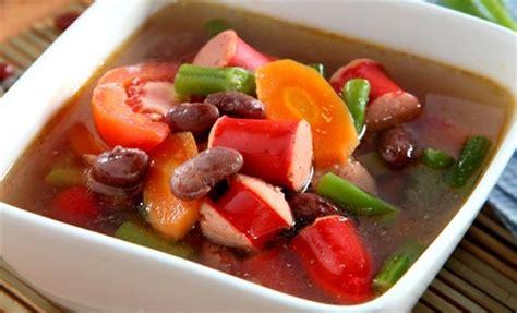 cara membuat capcay kuah merah cara membuat capcay merah cara membuat sup kacang merah