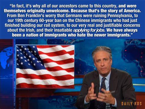 Jon Stewart Memes - anti immigration quotes quotesgram