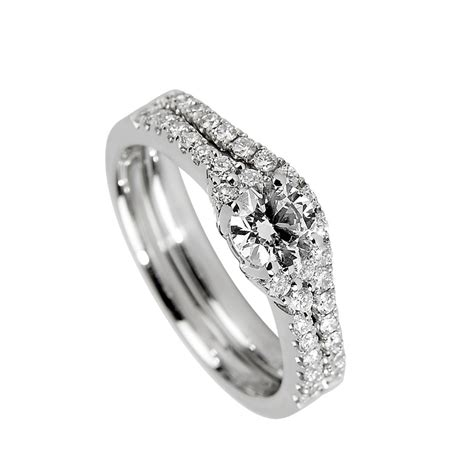 Affordable Wedding Rings by Wedding Rings Matching Engagement And Wedding Rings