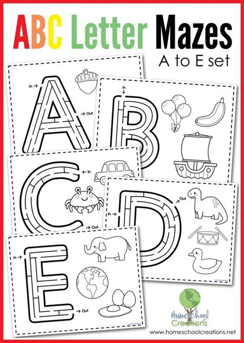 printable maze letter d alphabet mazes coloring maze and preschool alphabet