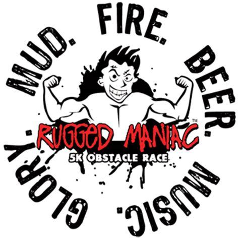 rugged maniac logo rugged maniac nerve