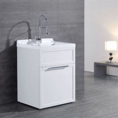 Ove Utility Sink Cabinet by New Ove Quot Quot All In One Laundry Tub And Cabinet White