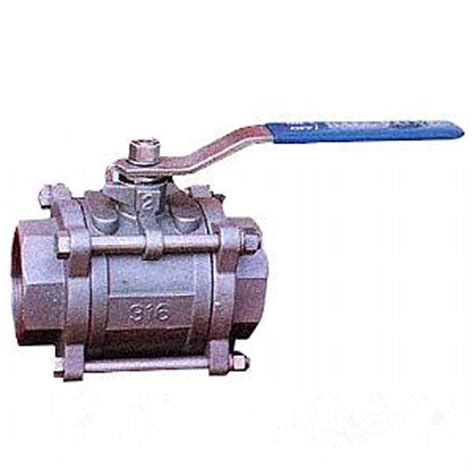 Diskon Valve One Pcs 1 Pcs 1 Inch Stainless 1000 Wog threaded 2 pc valve 1 8 inch 800 wog landee valve