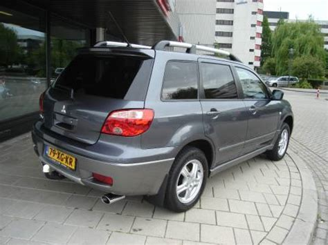 2007 mitsubishi 2 0 2wd outlander invite air conditioning euro 4 car photo and specs mitsubishi outlander sport 2 0 2wd invite plus 2007 gebruikerservaring autoreviews autoweek nl